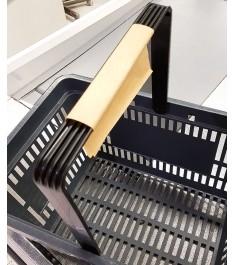 Foglietti adesivi proteggi maniglia cestino spesa - COVID-19