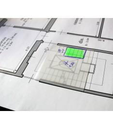 Esempio utilizzo post-it trasparenti: correzione disegno grafico
