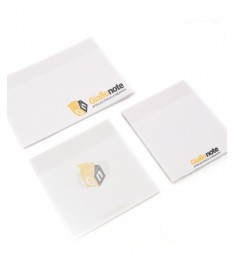 Post-it in carta trasparente 100g/m2 Giallonopte