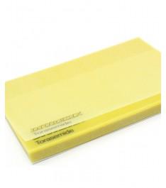 Post-it trasparenti carta gialla