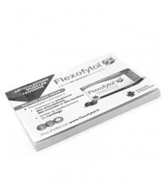 Memo adesivi con intaglio personalizzato su ogni foglietto e sottoblocco personalizzato