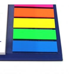 Calendario da tavolo personalizzato con post it e segnapagina