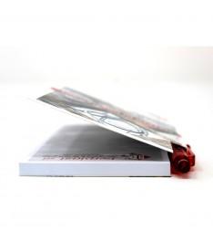 Blocchetto memo tascabile per appunti con penna e copertina