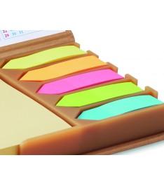 Set combinato All-in Calendar dettaglio bandierine segnapagina in carta nei colori pastello standard