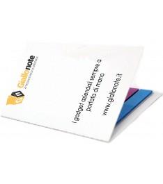 3 in 1: calendario tascabile, segnapagina e biglietto da visita con copertina personalizzata