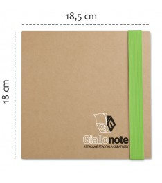 Set da scrivania personalizzato con Block notes, post-it, segnapagina e penna. misure