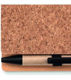 Dettaglio penna blocco appunti