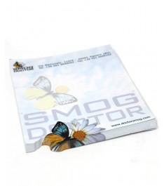 block notes con forma farfalla