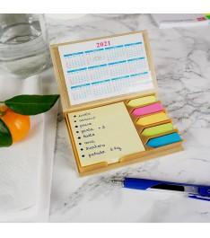 Set con calendari con lista spesa
