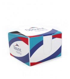 dispenser con cubo post-it personalizzato