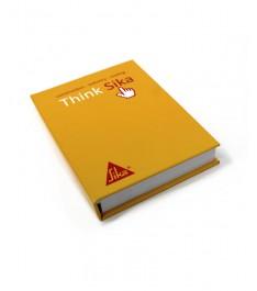 Memo adesivi 75x125 mm con copertina rigida arancione