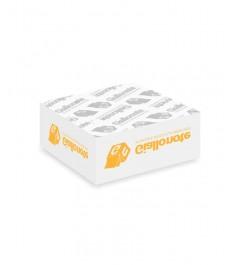 cubo appunti memo non adesivi 90x90x40mm sottoblocco giallonote