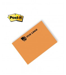 post-it 3m 102x75mm arancio fluo