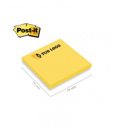 post-it 75x75 mm giallo fluo