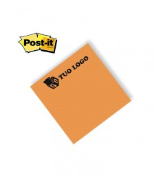 post-it 75x75 mm arancio fluo