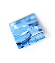 memo adesivi personalizzati 75x75mm con copertina stampa 1-4 colori giallonote fronte