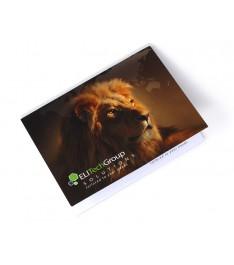 fronte memo adesivi personalizzati 102x75 con copertina giallonote stampa 1-4 colori