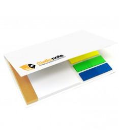 mini organizer personalizzabile memo adesivi 69x75 bandierine segnapagina