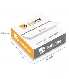 distributore memo adesivi personalizzati 69x75 cartoncino misure