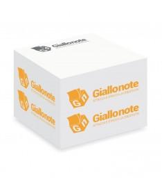 cubo memo adesivi personalizzati700 fogli 70x70x70mm giallonote