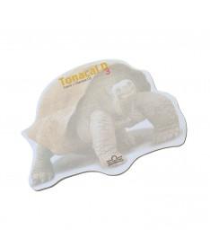 Memo adesivi sagomati 100 x 100 mm personalizzati  tartaruga