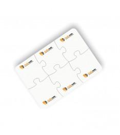 blocchetto adesivo sagomato puzzle personalizzato
