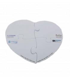 blocchetto memo adesivi sagomato personalizzato forma cuore