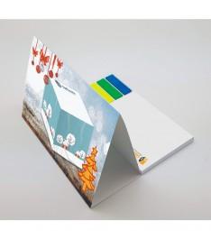 retro calendario tavolo personalizzato 135x153 stampa 4 colori
