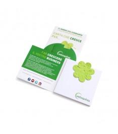 Memo adesivo personalizzato con coeprtina EarthPaper