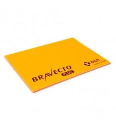 Memo elettrostatico 100x70 personalizzato arancione