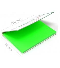 Memo elettrostatico neutro 100x70 con copertina personalizzata
