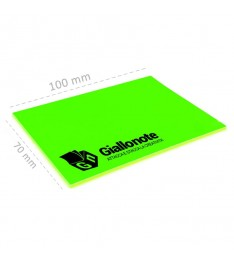 misure memo elettrostatico 100x70 personalizzato verde