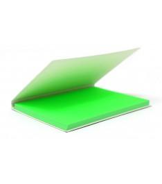Memo elettrostatico 100x70mm con copertina personalizzata