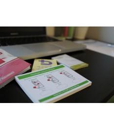 Stampa memo adesivi in carta riciclata