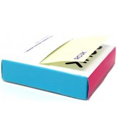 Distributore blocchetti adesivi personalizzato zig-zag 80x80mm
