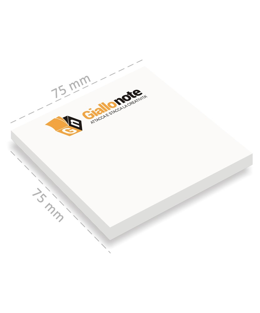 Post-it personalizzati 75x75mm