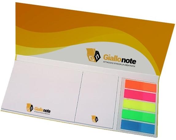 Blòocknotes personalizzato con copertina e segnapagina
