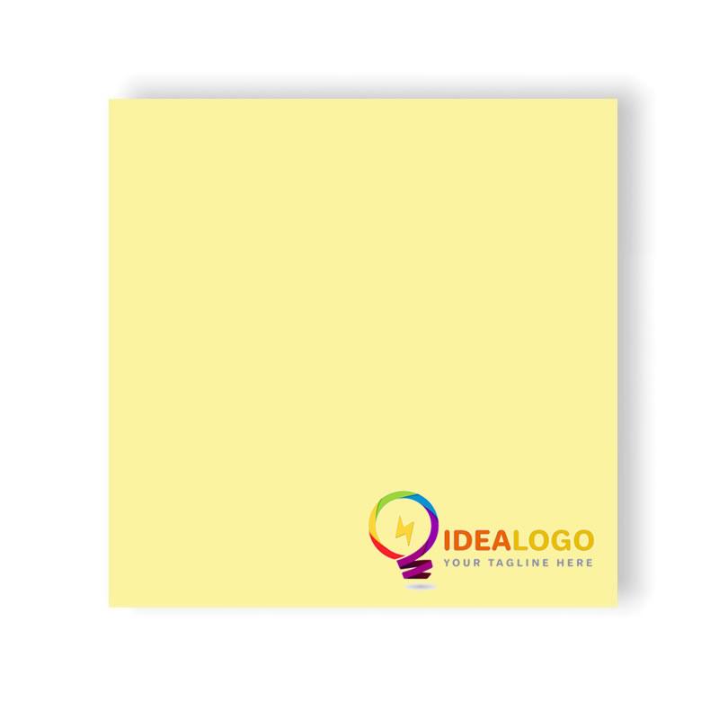 post it 3m giallo canarino personalizzato con il tuo logo