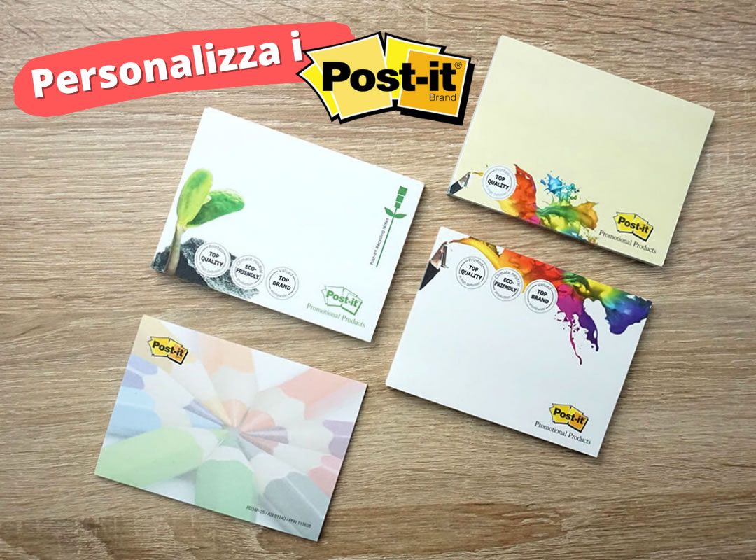 esempi di post-it da personalizzare