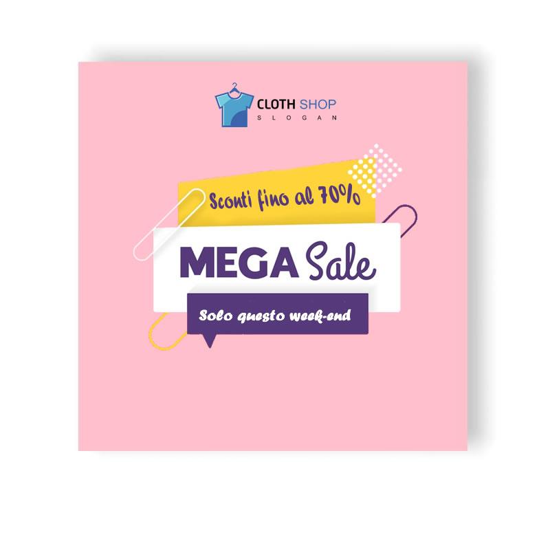 post it 3m rosa personalizzato per promozione sconti negozio
