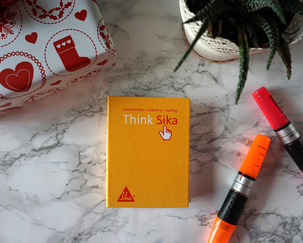 memo 75x125 con copertina rigida arancione