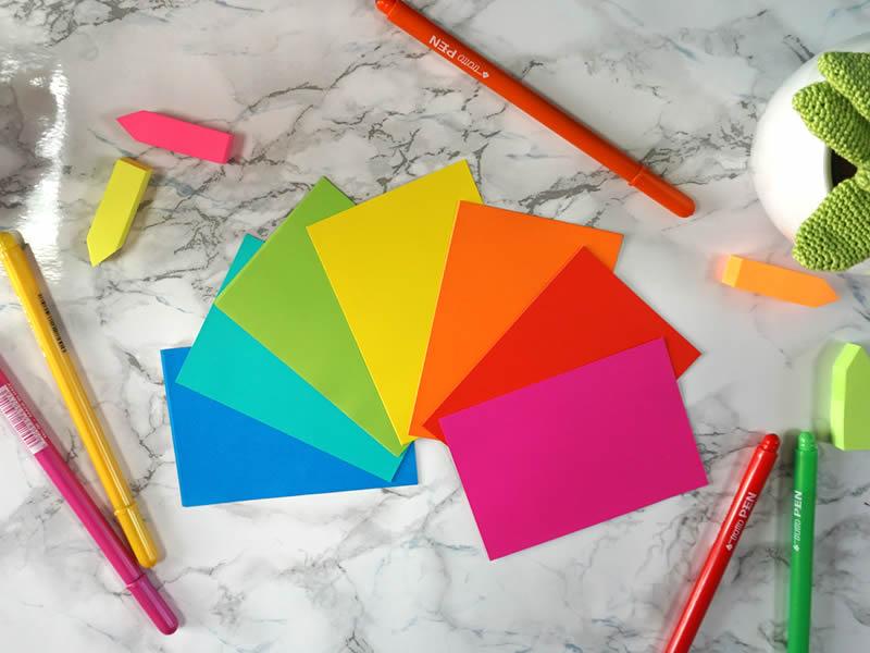 post it colorati fluo