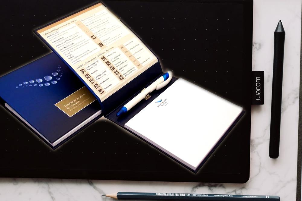 Business Pad, un gadget promozionale perfetto per ingegneri, geometri, avvocati, perfetto da portare sempre con se' e avere tutto a portata di mano