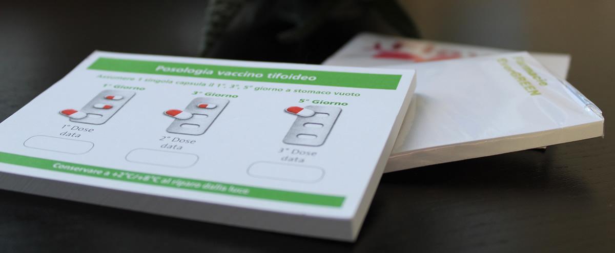 Memo adesivi personalizzati per aziende farmaceutiche