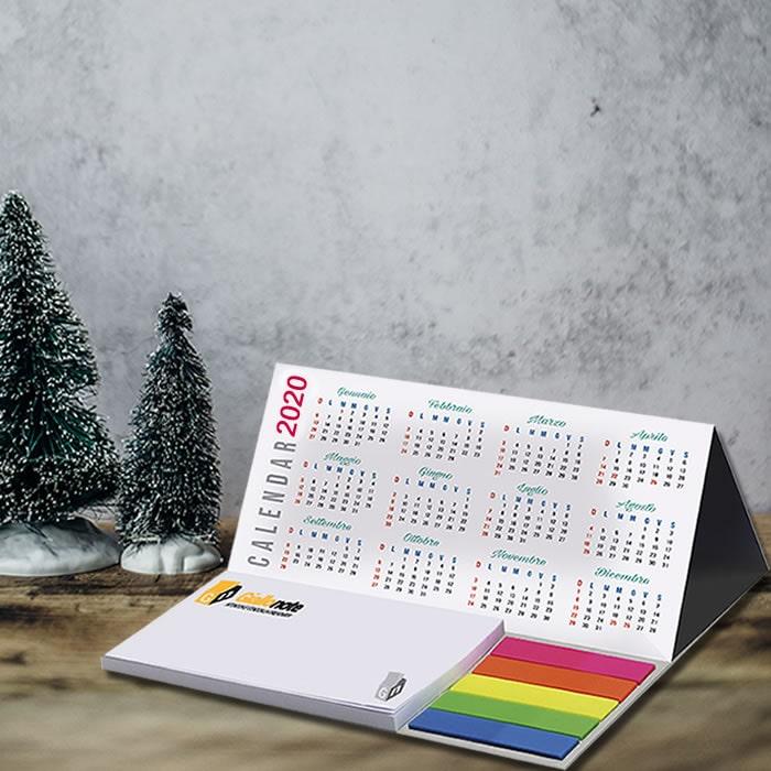 Calendario 2020 Giallonote