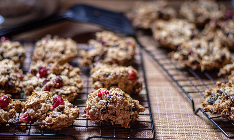 foto biscotti ai mirtilli