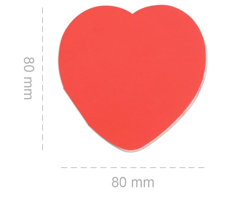 misure gadget memeo adesivo in love