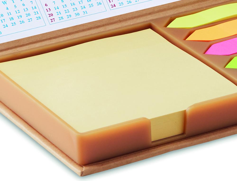 Mini organizer da scrivania personalizzato con foglietti non adesivi