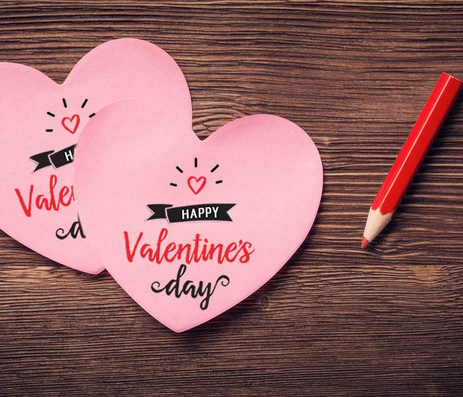 Post it a forma di cuore San Valentino