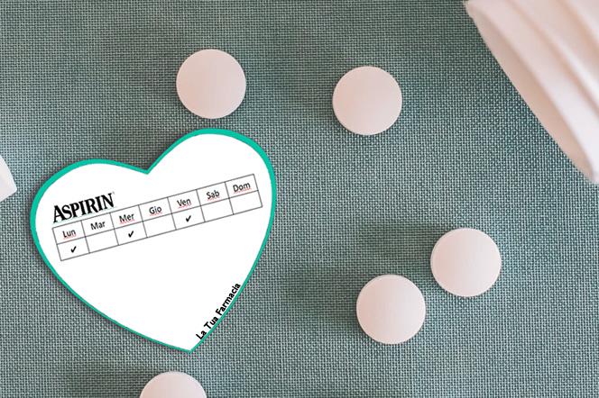 Post it personalizzati per farmacia a forma di cuore